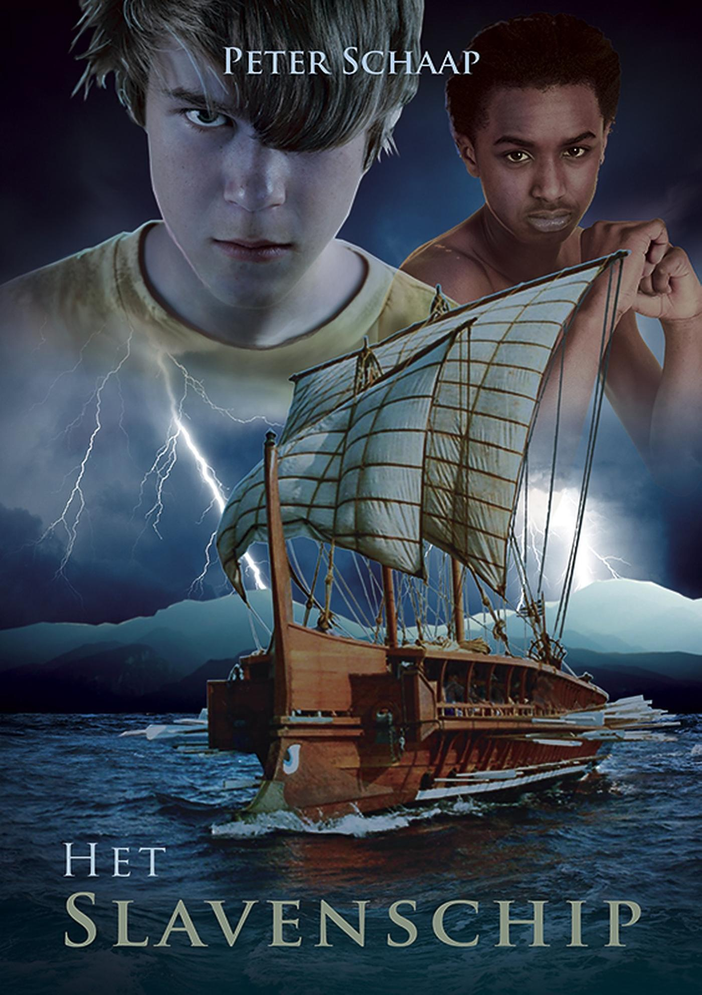 Cover Het slavenschip
