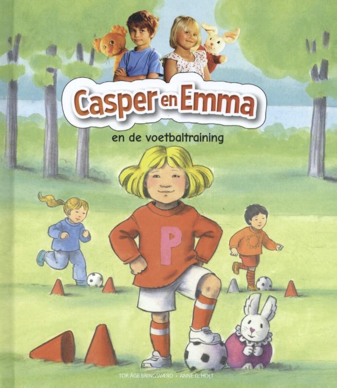 Cover Casper en Emma en de voetbaltraining
