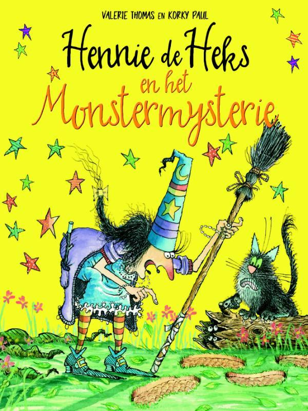 Cover Hennie de Heks en het Monstermysterie