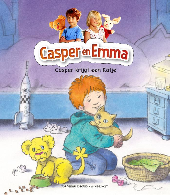 Cover Casper krijgt een katje