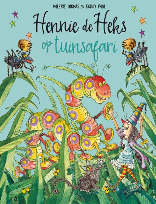 Cover Hennie de Heks op tuinsafari