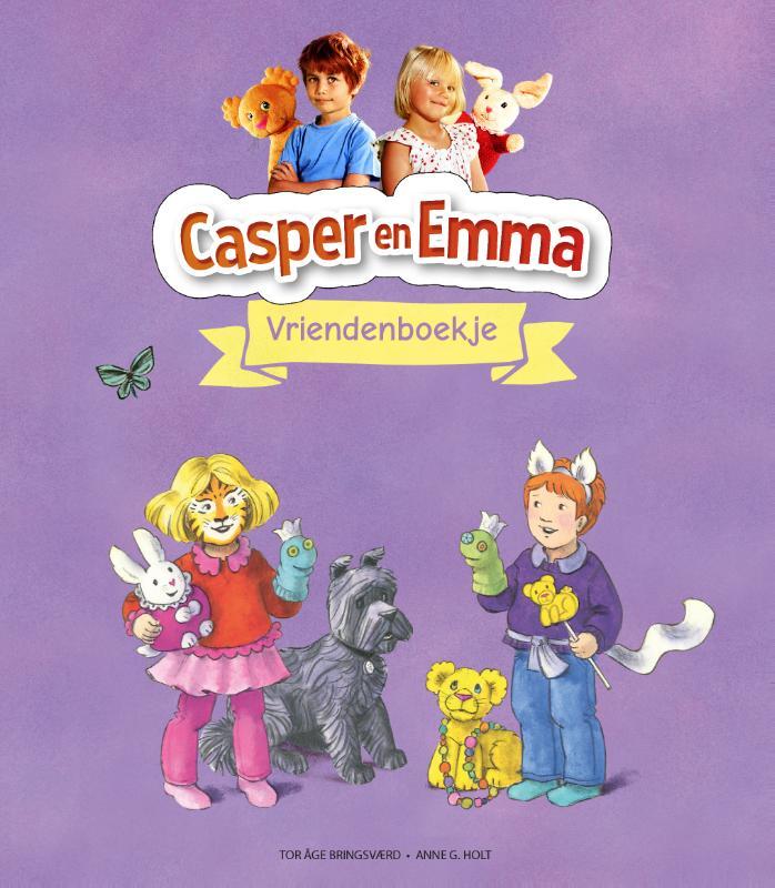 Cover Casper & Emma Vriendenboekje