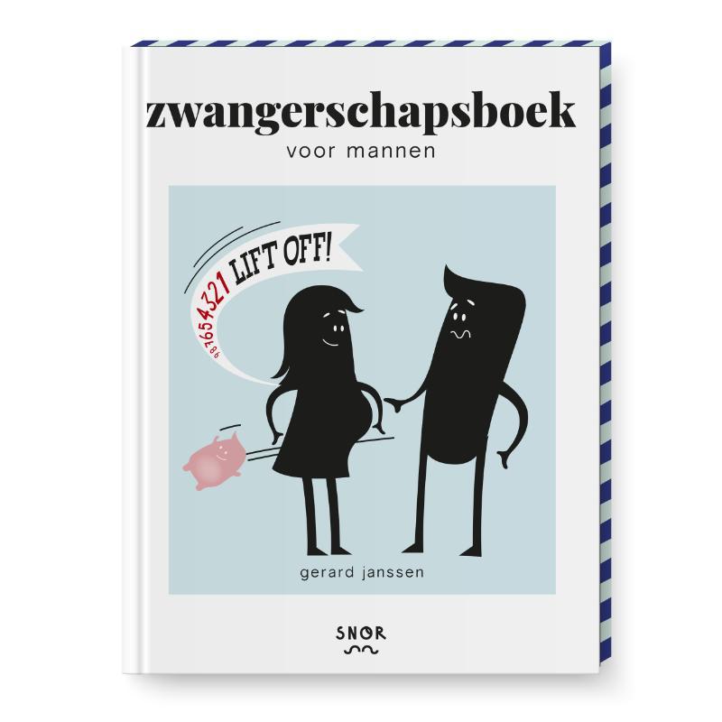 Cover Zwangerschapsboek voor mannen