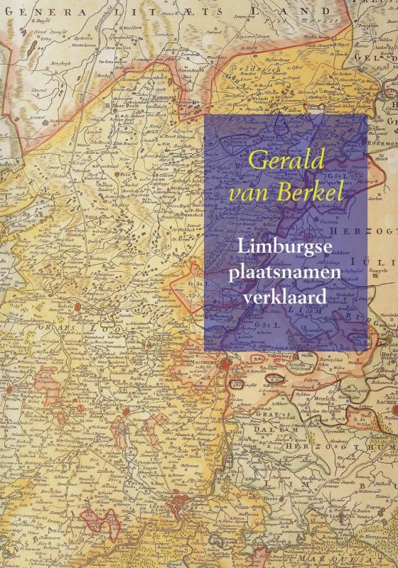 Cover Limburgse plaatsnamen verklaard