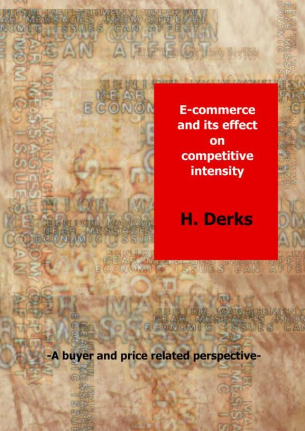 Cover E-commerce and its effect on competitive intensity