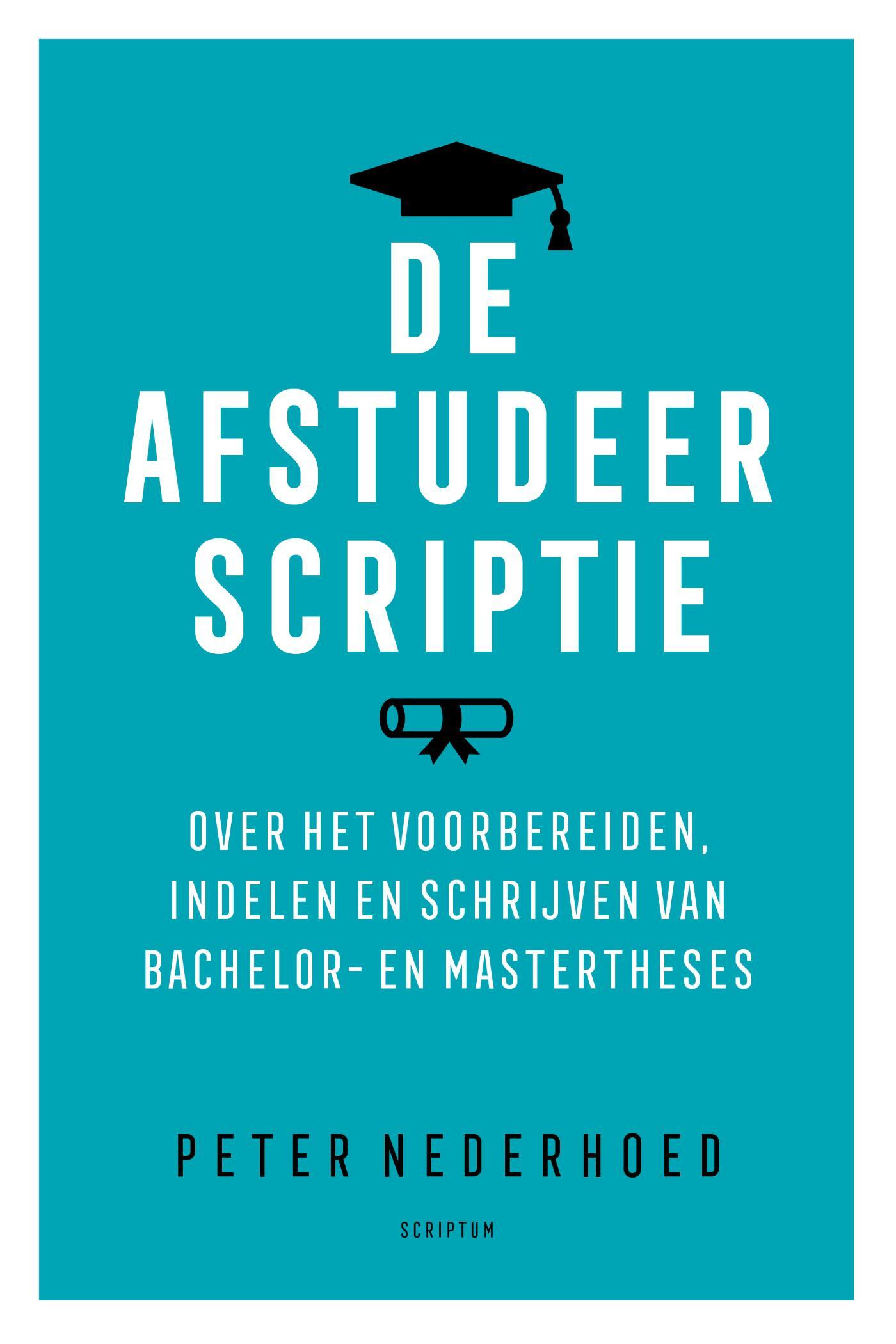 Cover De afstudeerscriptie