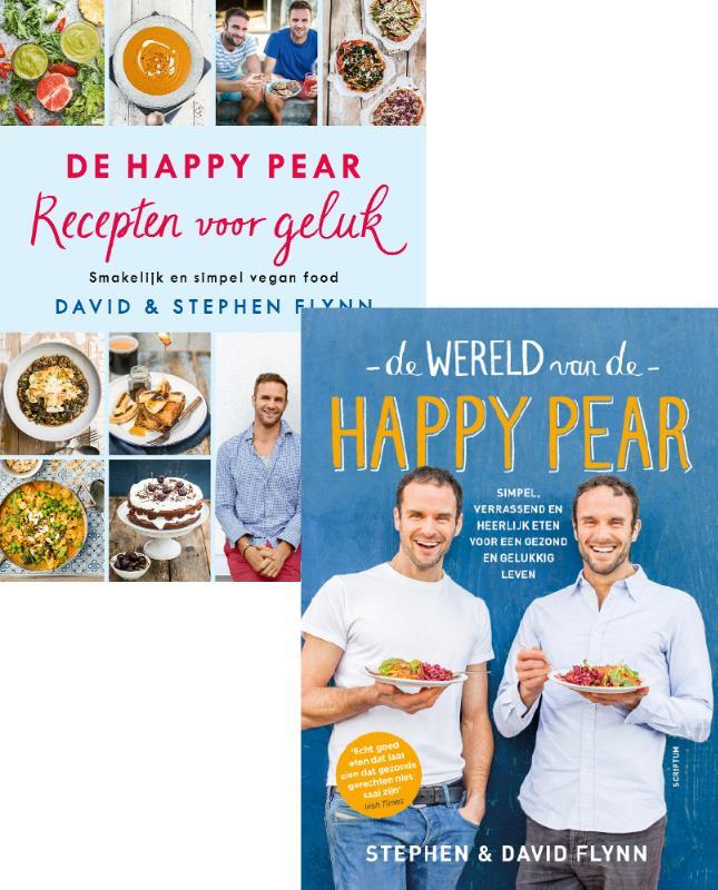 Cover Combipakket De Wereld van de Happy Pear & De Happy Pear Recepten voor geluk