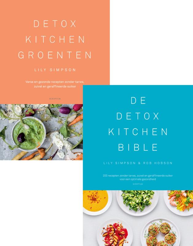 Cover Combipakket Detox Kitchen Groenten & Detox Kitchen Bible