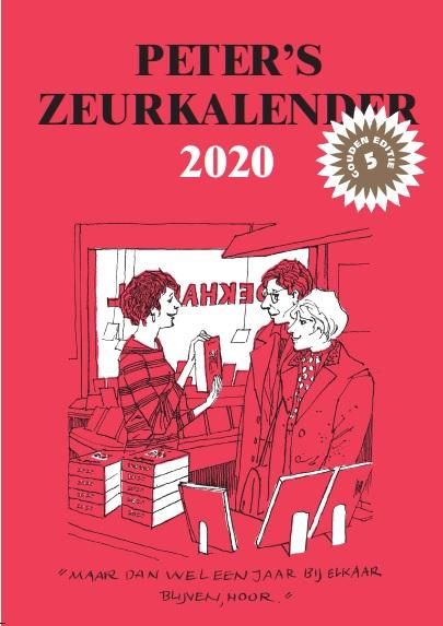 Cover Peter's Zeurkalender 2020