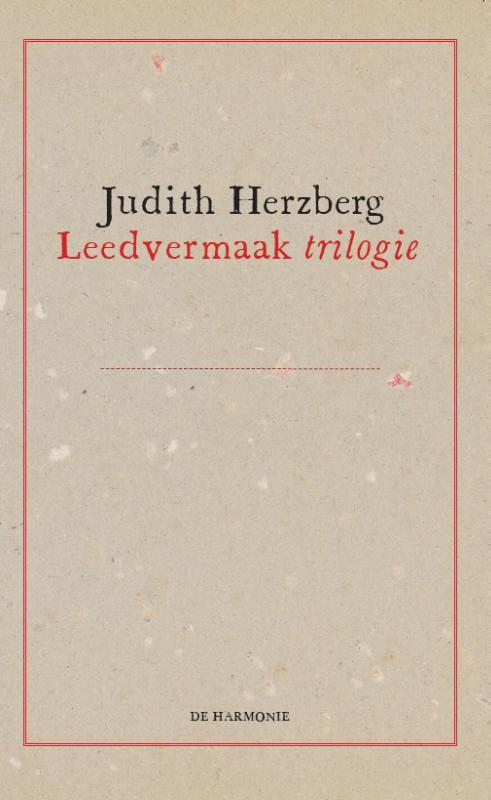 Cover Leedvermaak trilogie