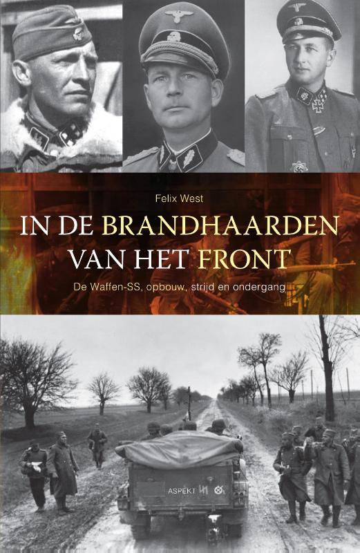 Cover In de brandhaarden van het front