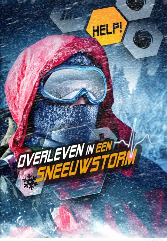 Cover Overleven in een sneeuwstorm