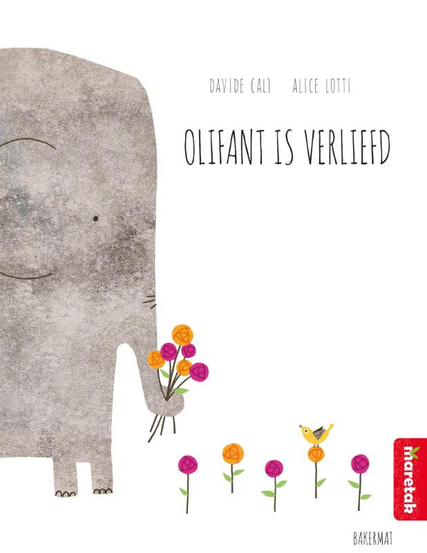 Cover Olifant is verliefd