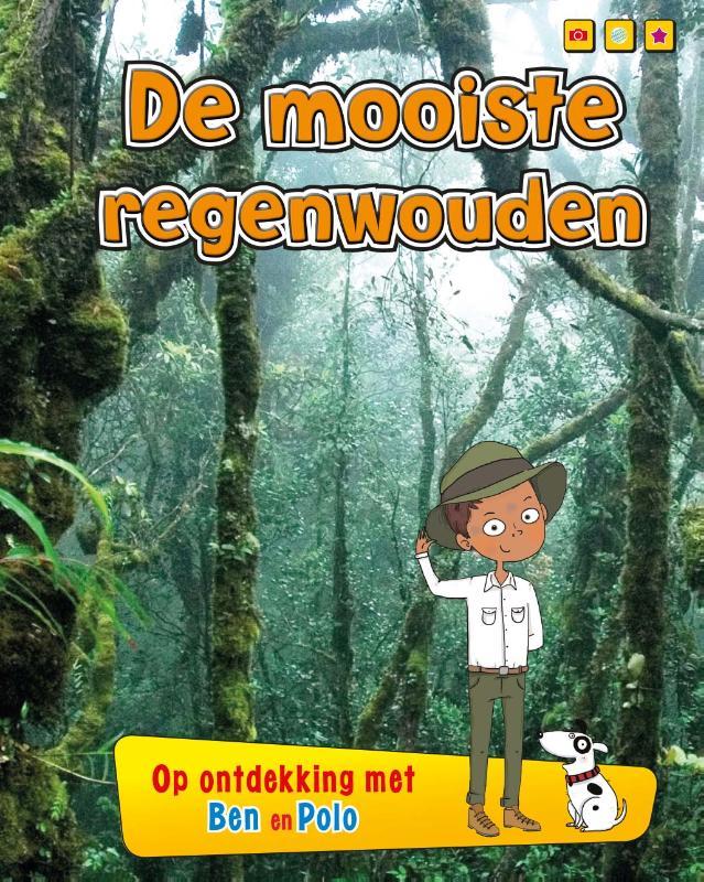 Cover De mooiste regenwouden