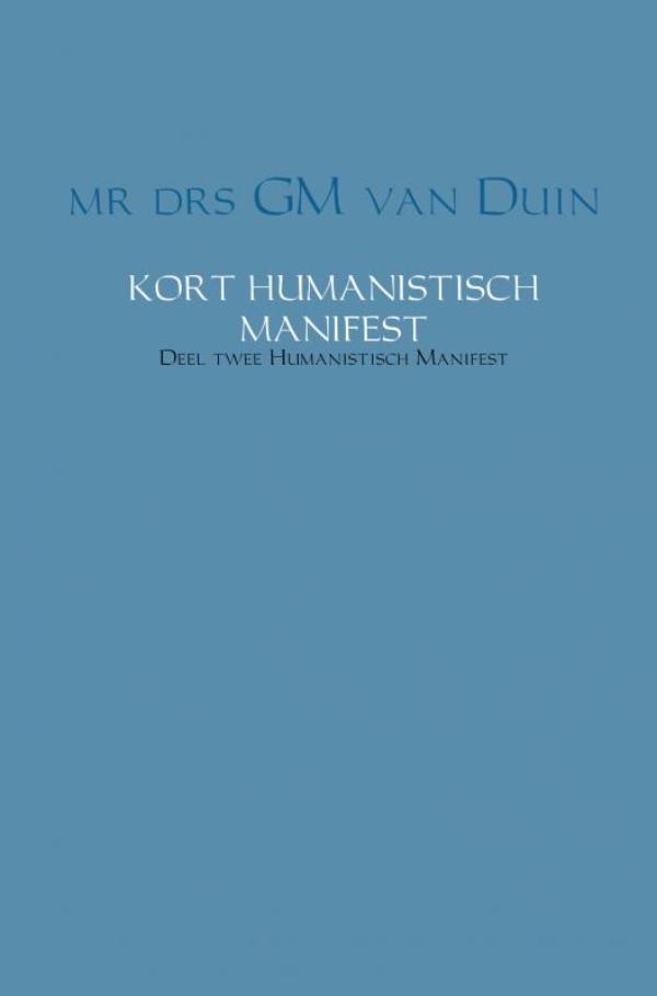 Cover Kort humanistisch manifest