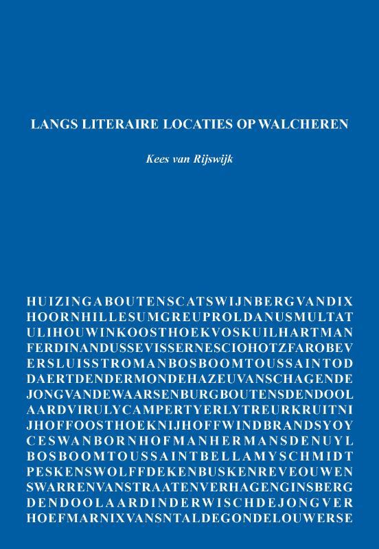 Cover Langs literaire locaties op Walcheren