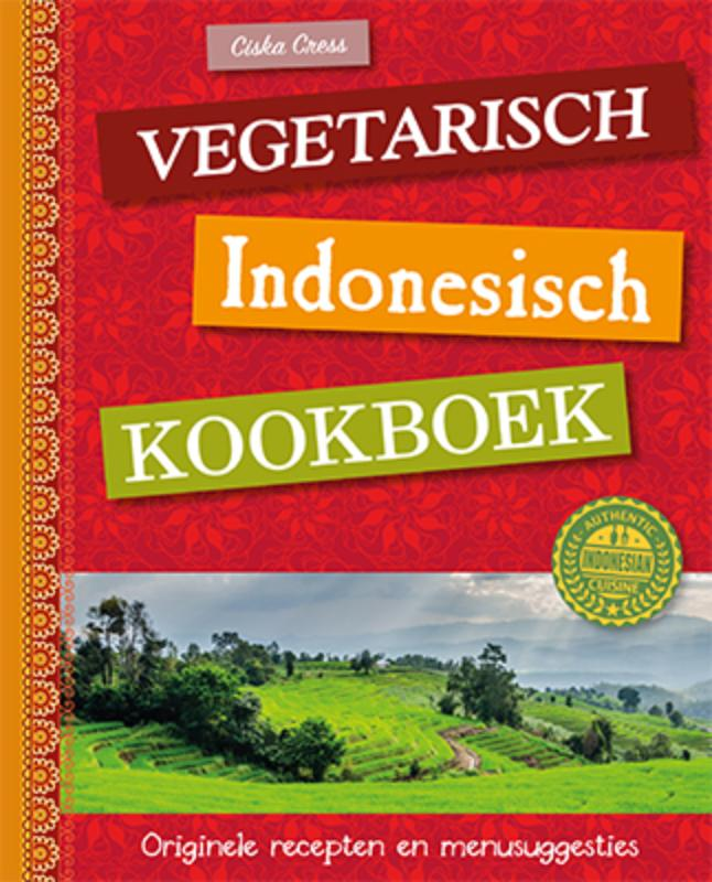 Cover Vegetarisch Indonesisch kookboek
