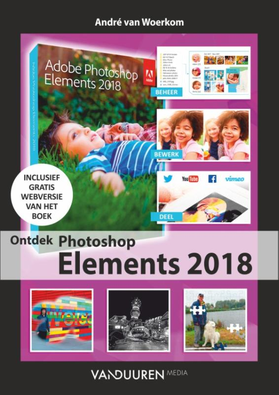 Cover Ontdek Photoshop Elements 2018