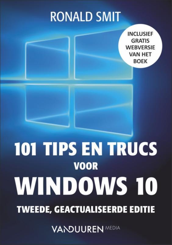 Cover 101 tips en trucs voor windows 10