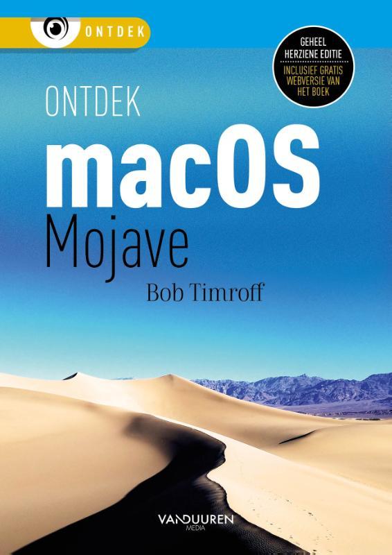 Cover Ontdek mac OS Mojave