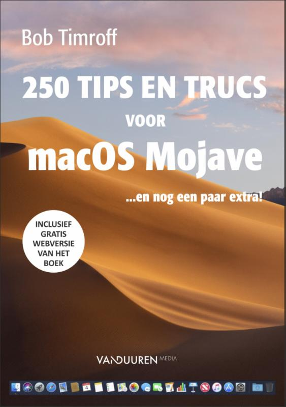 Cover 250 tips & trucs voor macOS Mojave