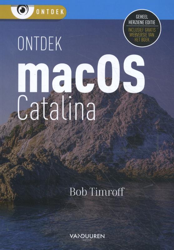 Cover Ontdek macOS Catalina