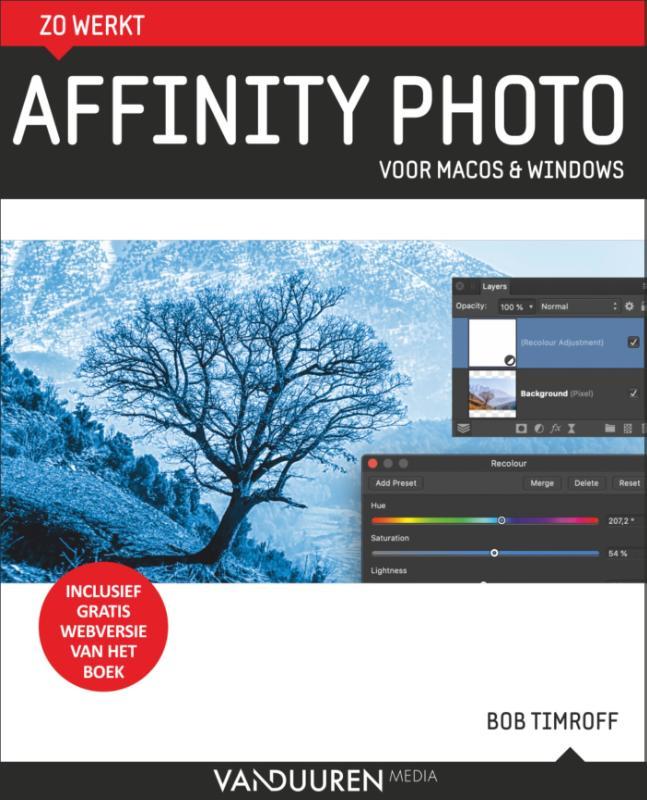 Cover Zo werkt Affinity Photo