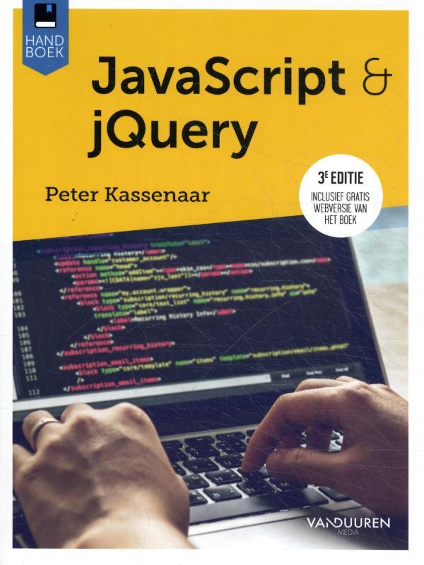 Cover JavaScript, 3e editie