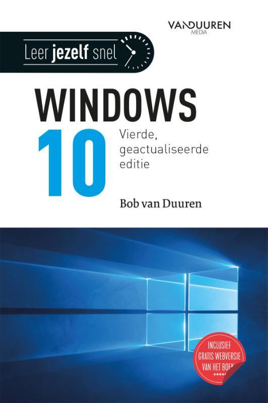 Cover Leer jezelf SNEL... Windows 10