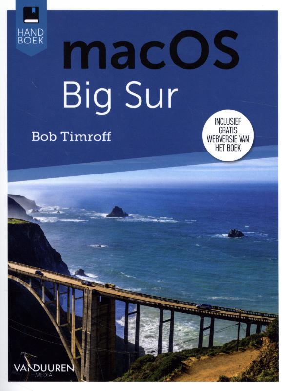 Cover Handboek macOS Big Sur