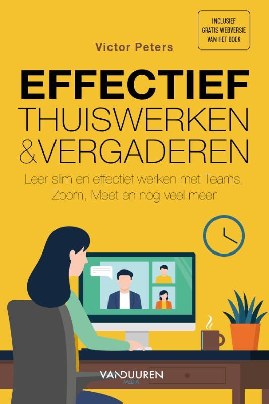Cover Effectief thuiswerken en online vergaderen