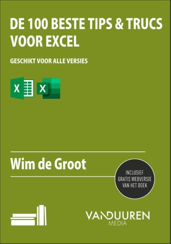 Cover De 100 beste tips & trucs voor Excel