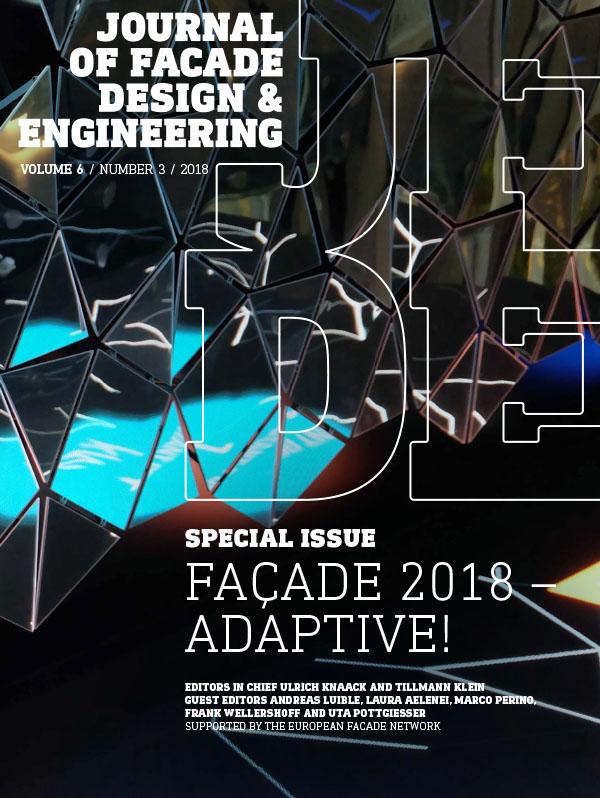 Cover Façade 2018 – Adaptive!