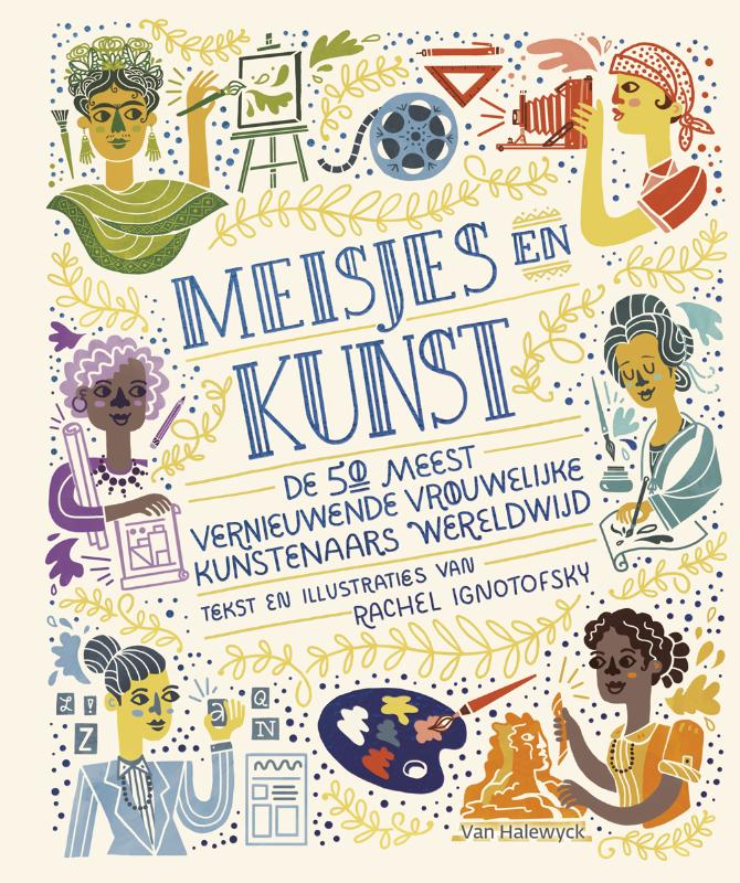 Cover Meisjes en kunst