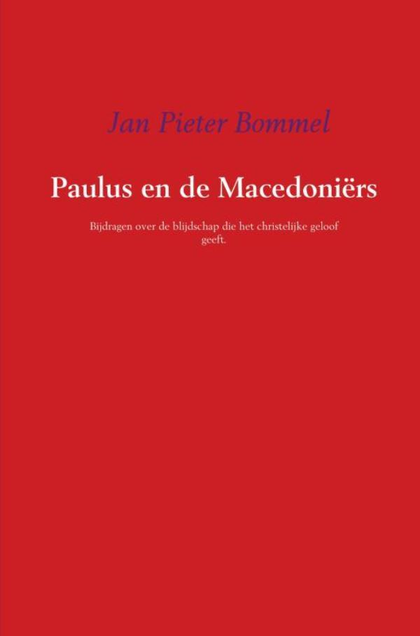 Cover Paulus en de Macedoniërs