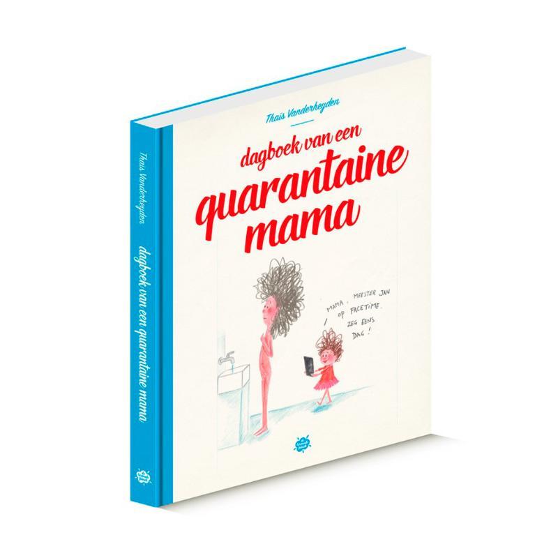 Cover Dagboek van een quarantaine mama