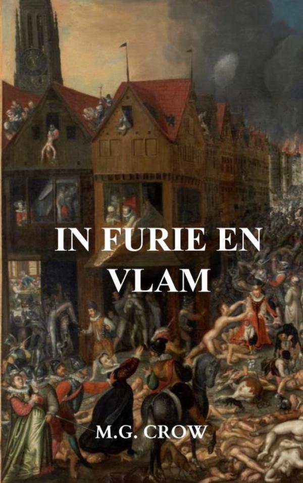 Cover In furie en vlam