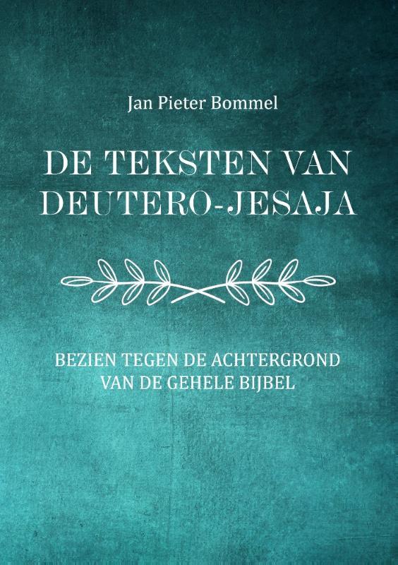 Cover De teksten van Deutero-Jesaja