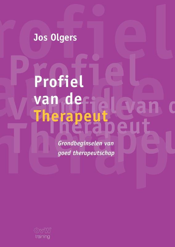 Cover Profiel van de therapeut