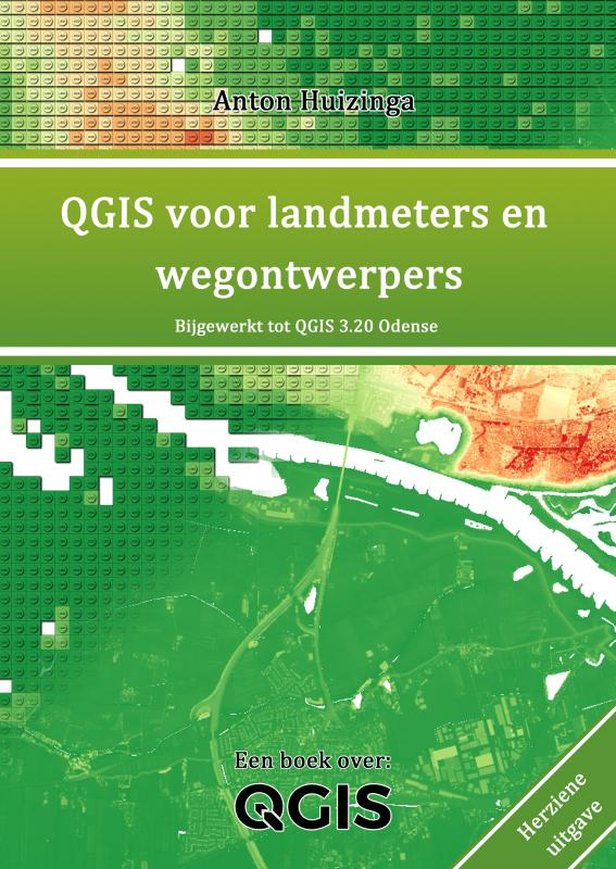 Cover QGIS voor landmeters en wegontwerpers