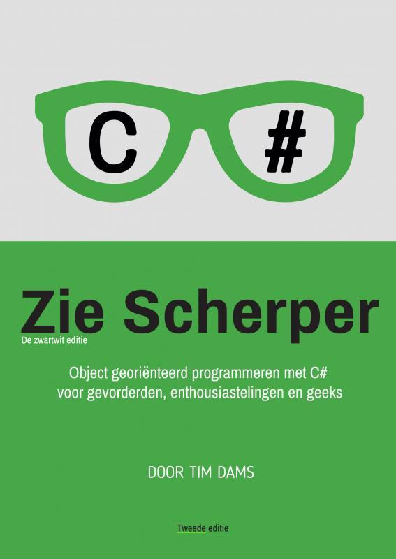 Cover Zie Scherper