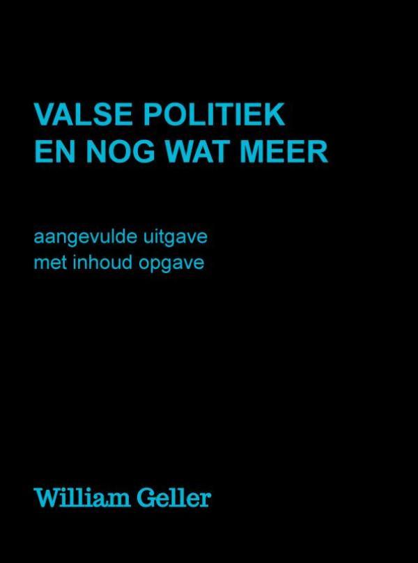 Cover Valse Politiek en nog wat meer