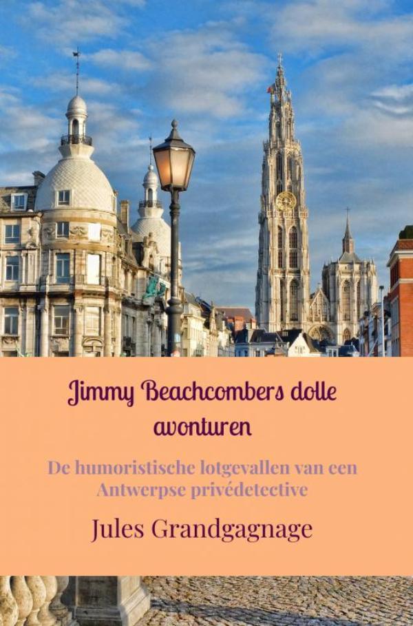 Cover Jimmy Beachcombers dolle avonturen