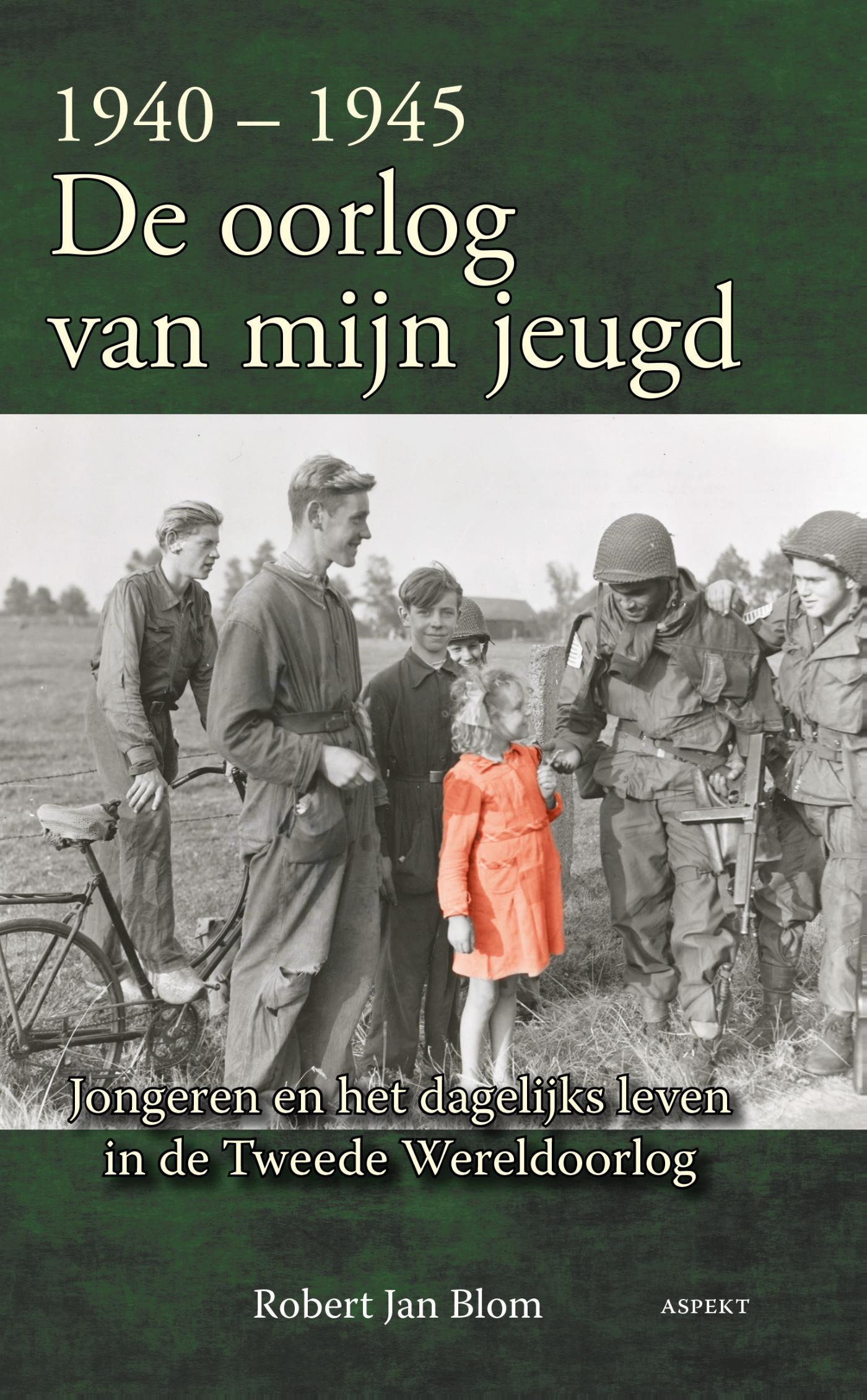Cover De oorlog van mijn jeugd