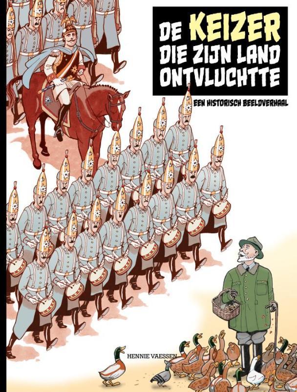 Cover De Keizer die zijn land ontvluchtte
