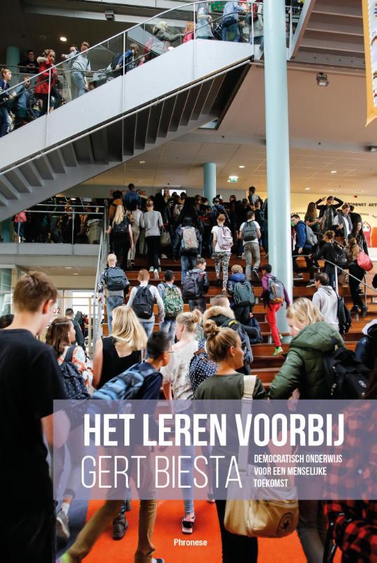 Cover Het leren voorbij