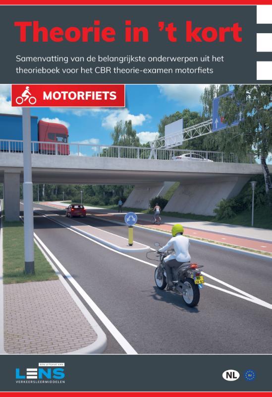 Cover Theorie in 't kort motorfiets