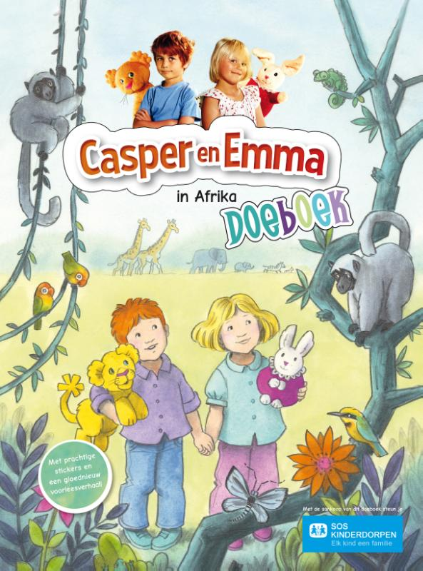 Cover Casper en Emma in Afrika