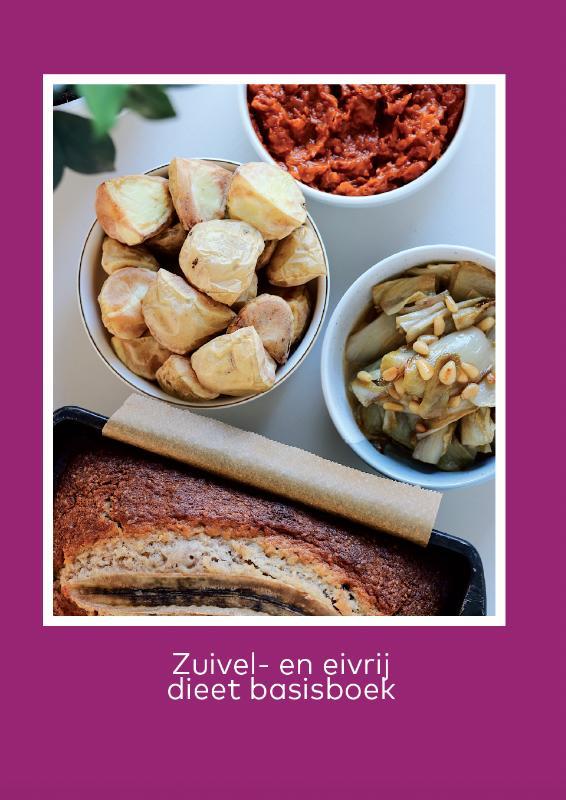 Cover Zuivel- en eivrij dieet basisboek