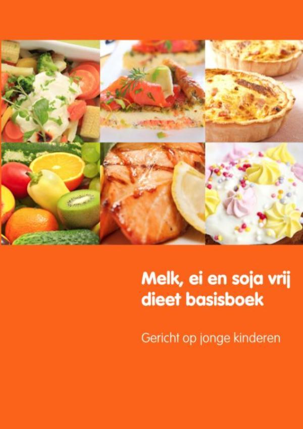Cover Melk, ei en soja vrij dieet basisboek